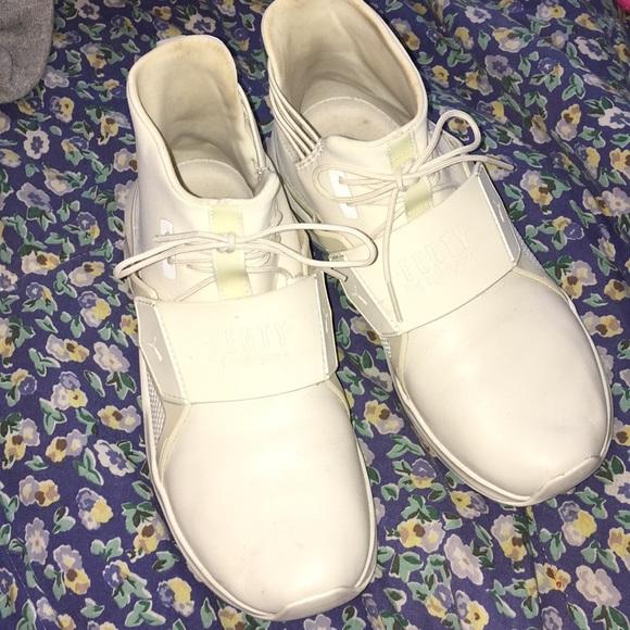 Puma Shoes - Fenty puma cream sneakers 9